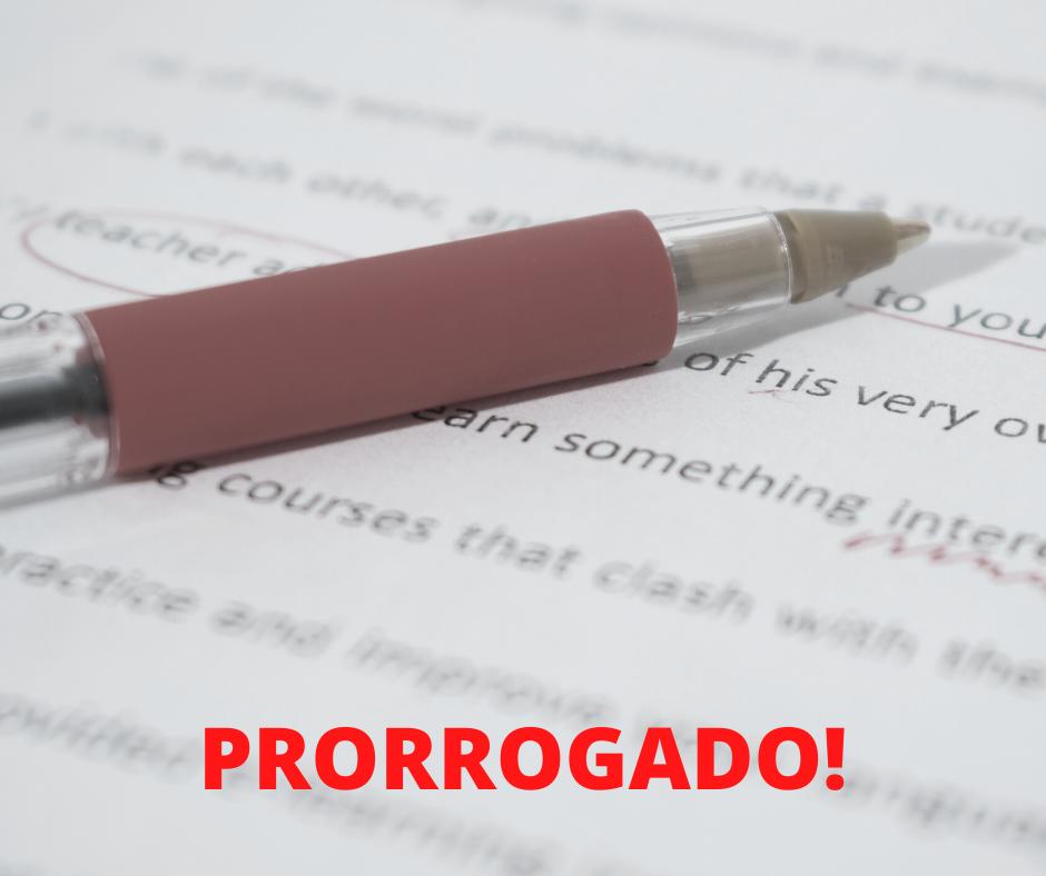 Prorrogado! - Contabilidade Em Itaquera - SP | Logax Assessoria Contábil